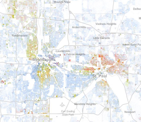 The Racial Dot Map Weldon Cooper Center For Public Service - Us-demographics-map